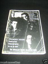 AUSTRALIAN RECORD COLLECTOR MAGAZINE CROWDED HOUSE