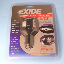 High Quality Exide Rechargeable Dash Flash Car Light & Alarm Mode C/W LED Lights