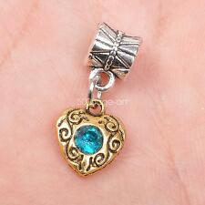 5pcs tibetan Silver  antique gold bails connector Pendant Beads pendants