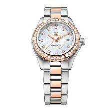 TAG HEUER Aquaracer Diamond Ladies Watch WAP1452.BD0837 - RRP £5050 - NEW