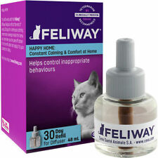 Feliway 48 ml REFILL Only for Diffuser Plug-in Cat Feline Stress Behavior Relief