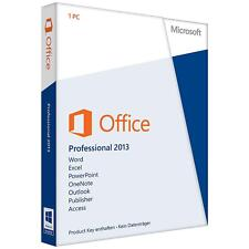 Microsoft Office Professional 2013 PLUS 2 FPP-licenze (non EHV) tedesco