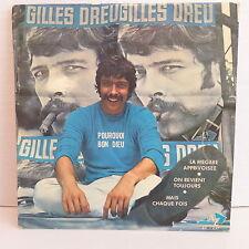 GILLES DREU Pourquoi bon Dieu EP 1227