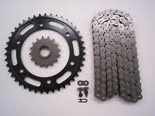 HONDA CBR929RR CBR 929 RR SPROCKET & O-RING CHAIN SET 16/43 2000 2001 BLK