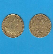 gertbrolen    Espagne Carlos IV 4 Escudos oro 1796 Madrid