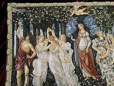 Wandteppich Italy Gobelin Sandro Botticelli Frühling La Primavera Arazzo 90x66cm