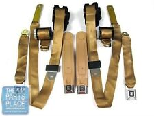 1978-81 Chevrolet Camaro / Pontiac Firebird Factory Seat Belt Set - Tan