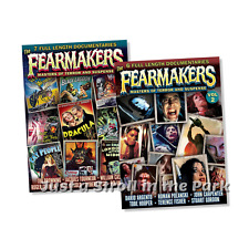 Fearmakers: Horror Movie Director Documentaries Vols 1 & 2 Box / DVD Set(s) NEW!