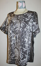 MARKS & SPENCER AUTOGRAPH Silky Top Size 12 BNWT ~ The High Street Collection