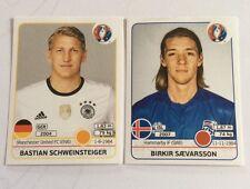 panini UEFA Euro2016 France Sammelbilder von Lidl, Nr.250 und Nr.611