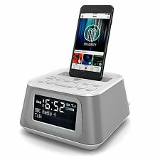Madingley aumento DAB Radio Docking Station Dock Altoparlanti ALLARME IPHONE 5 5S 5C 6 6 +