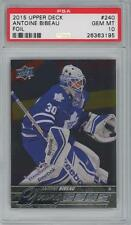 2015 Upper Deck Young Guns Foil #240 Antoine Bibeau RC Gem Mint PSA 10