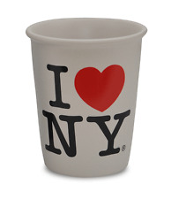 Reusable Ceramic I Love New York Coffee Cup heart NY ceramic paper cup replica
