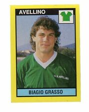 [LC12] FIGURINA CALCIATORI VALLARDI GRANDE CALCIO 1988/89 AVELLINO GRASSO