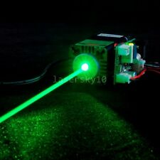 200mw 520nm Green Laser Module TTL 12V Stage Lighting 515nm Green Lazer Beam
