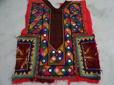 VINTAGE Small Banjara Neck Yoke Embroidery Applique Patch Sewing craft 2228