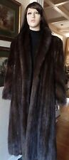 SALE! $135K RETAIL! WOW! RUSSIAN SABLE FUR COAT M/L/XL BARGUZIN CROWN IMPERIAL