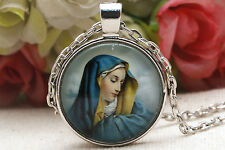 Unisex gifts Pendant Necklace Jewelry virgin Mary necklace Charm pendant