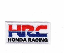 Embroidered Patch Iron Sew Logo Emblem Custom Hardcore HONDA RACING HRC TEAM 2