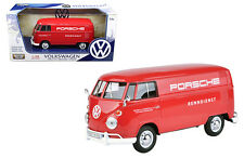 MOTOR MAX 1/24 PLATINUM COLLECTION VOLKSWAGEN TYPE 2 VAN PORSCHE RACING 79557 RD