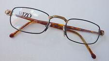 Gormanns Rizo Design Metall Brille flache Glasform, Kunststoffbügel  Gr: M 48-20