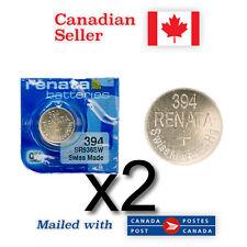 2 x Brand NEW 394 Renata Silver Oxide 1.55V Batteries - SR936SW, 625, 280-17