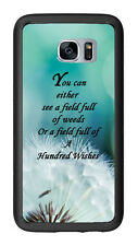Dandelion Quote For Samsung Galaxy S7 G930 Case Cover by Atomic Market