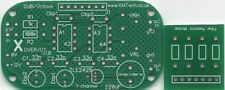 Single Channel 2 way car 12dB/oct active crossover filter DIY PCB ONLY KMTECH