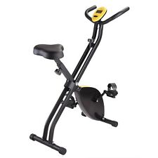 Folding Exercise Bike Home Cycling Magnetic Trainer Fitness Stationary Mach