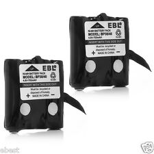 2 Pack Replacement Battery For Uniden BP-38 BP38 BP-40 380 GMR FRS 2-way radio
