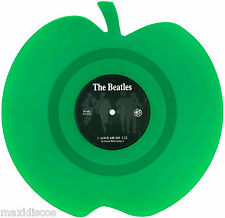 """7"""" - The Beatles - Love Me Do (Vinyl, Green Apple, Shaped, Limited Edition) NEW"""