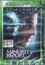 Dvd Video **MINORITY REPORT** con Tom Cruise nuovo sigillato 2002