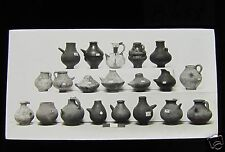 Glass Magic Lantern Slide DISPLAY OF ROMAN POTS C1900 ARCHAEOLOGY