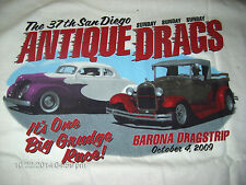 LG New T-Shirt w/ Pocket 2009 The 37th San Diego ANTIQUE DRAGS Barona Strip  #77