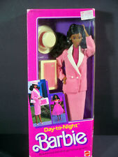 NIB BARBIE DOLL 1984 VINTAGE DAY-TO-NIGHT BLACK AA AFRICAN AMERICAN