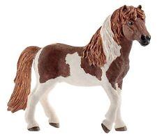 Schleich 13815 Icelandic Horse Stallion Pinto Model Toy Figurine 2017 - NIP