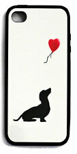 Dachshund Mobile phone back cover, clip on, case, cover fits iphone 4 & 4s