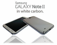 Carbon Fibre Skin For SAMSUNG GALAXY NOTE 2 Wrap Cover Sticker Protector Case