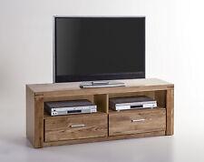 TV-Kommode Lowboard Tabea in Wildeiche Teimassiv geölt 2337