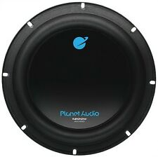 "Planet Audio AC8D 8"" DVC Woofer 1200W Max 4 Ohm"