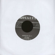 "Roy Brown - Butcher Pete Part 1 & 2 (Vinyl 7"" - 2014 - UK - Original)"