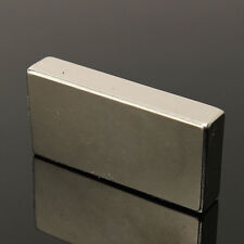Super Aimant Néodyme Neodymium N52 Puissant Magnets Magnetique Bloc 50X25X10mm