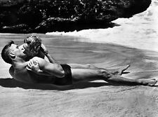 Burt Lancaster and Deborah Kerr UNSIGNED photo - B2816 - From Here to Eternity