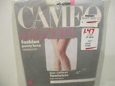VINTAGE CAMEO LEG LOOKS ULTRA-SHEER Pantyhose Nylons Stockings MEDIUM M NAVY