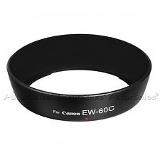 EW-60C Professional Replacement Lens Hood For Canon 18-55mm, 28-80mm Lens