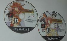 Sakura Wars: So Long, My Love English & Japanese Audio Game Disc's