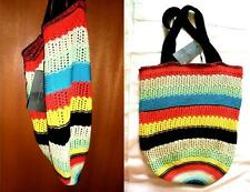 NWT ZARA 2015 SOLDOUT! MULTICOLORED BOHO CROCHET SHOULDER BAG