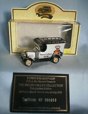 LLEDO DAYS GONE BULLNOSE MORRIS VAN TOWER COLLIERY NUM - LIMITED EDITION