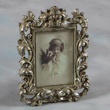"""Ornate Antique Silver Baroque Style Photo Photograph Picture Frame 7 """"x5"""" Gift"""