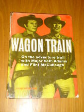 WAGON TRAIN A DAILY MIRROR BOOK WESTERN BRITISH ANNUAL 1959 VG